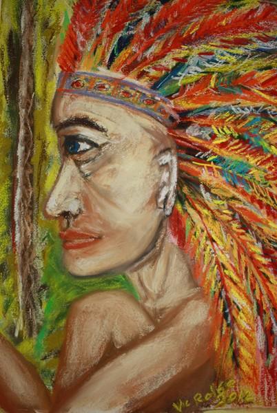 Feathery Head Dress