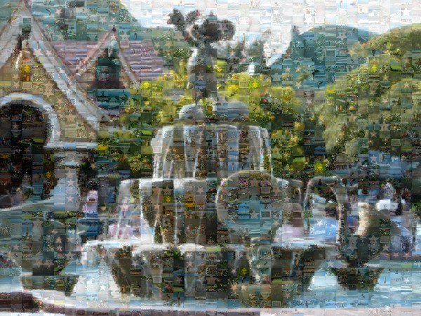 Mickey Mouse Fountain (EXAMPLE)