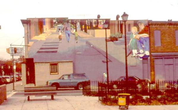 Mural, Lakewood & Lafayette Sts.