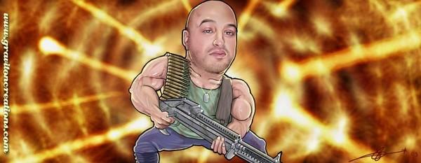 Zee In A Rambo Stylee