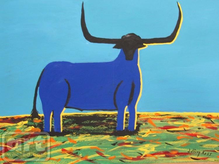 Big Blue Bull