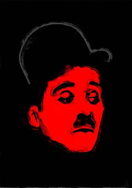 Charlie Chaplin Painting