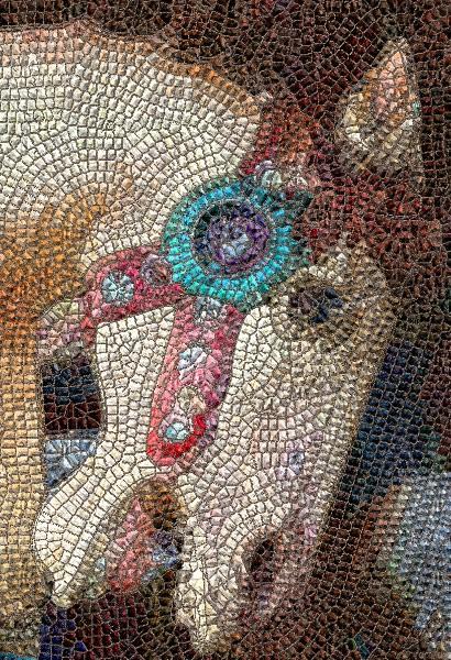 Carousel Horse Ride Mosaic.