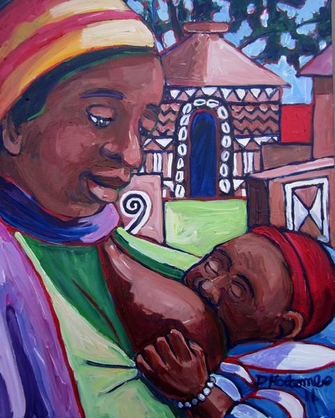 Breast feeding: Africa (2011)