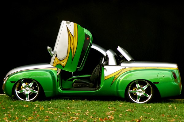 05 Chevy SSR - Customized