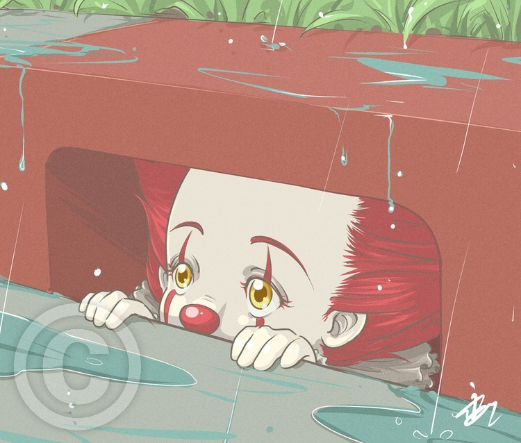 Another rainy day for Pennywise
