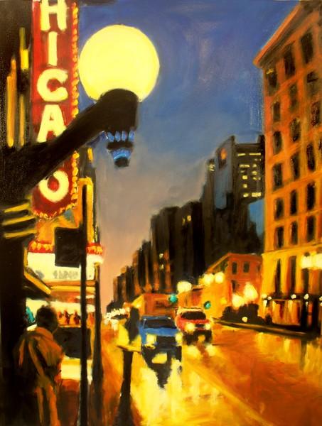 Twilight in Chicago - The Watcher