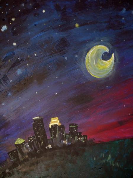 Minneapolis under the stars