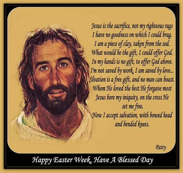 Jesus is the Sacrifice...
