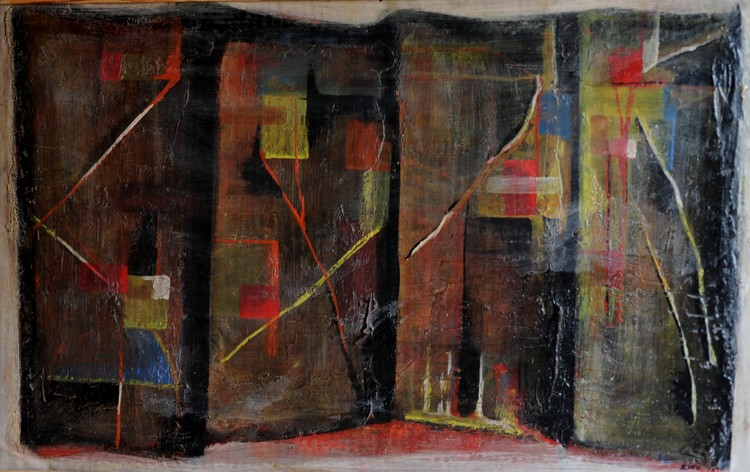 abstract room...1973.