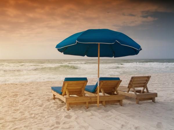 Pensacola Beach, Florida at Sunrise