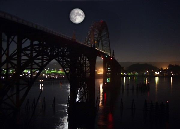 Bridge Moon