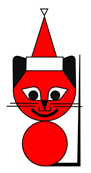 The Red Cat wishes you a Merry Christmas