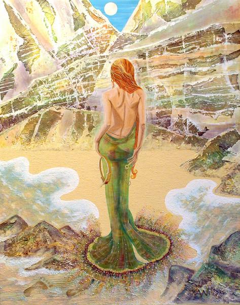 Venus. Reflection