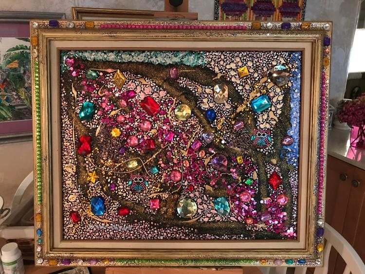 Jewel 29 Framed