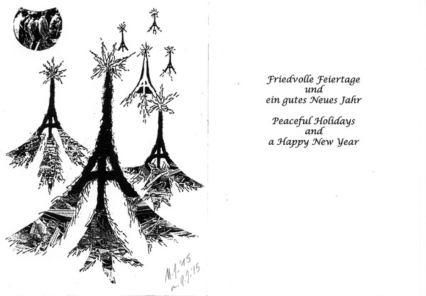 PEACEFUL HOLIDAYS HAPPY NEW YEAR