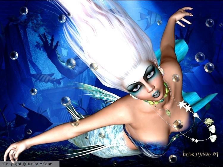 Mermaid Scene #2