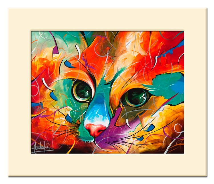 Cat Masters 18 - Size 12X10 in