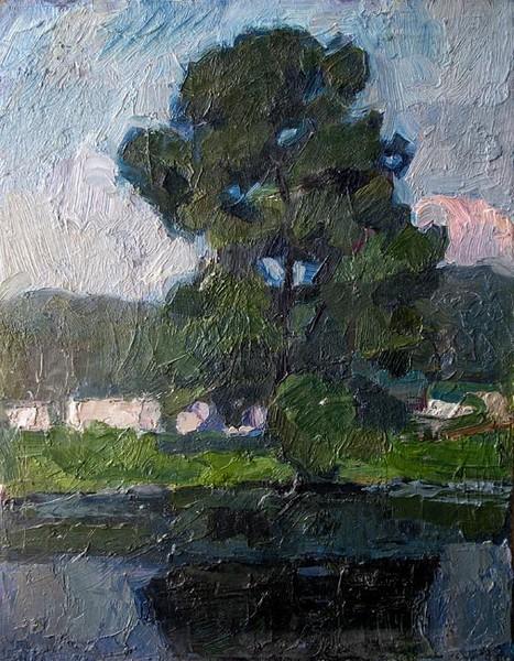 Pond near Krasnogorsk. 1978