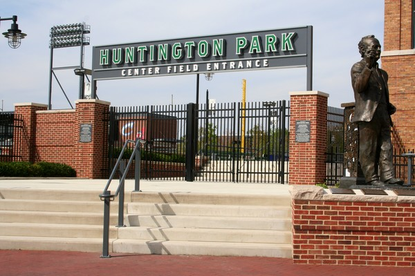 Huntington Park Center Field Entrance