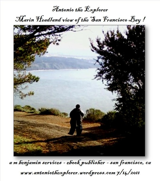 Antonio the Explorer view of SF Bay