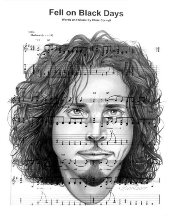 #ChrisCornell #Tribute #Drawing