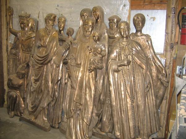 10 Saints in St. Antonio, Texas. USA
