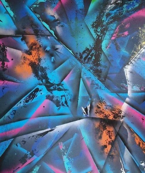 Abstrakt sprayart 21