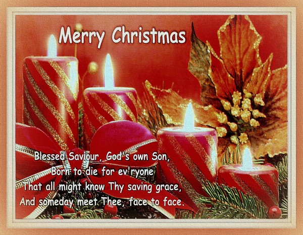 Blessed Christmas.....