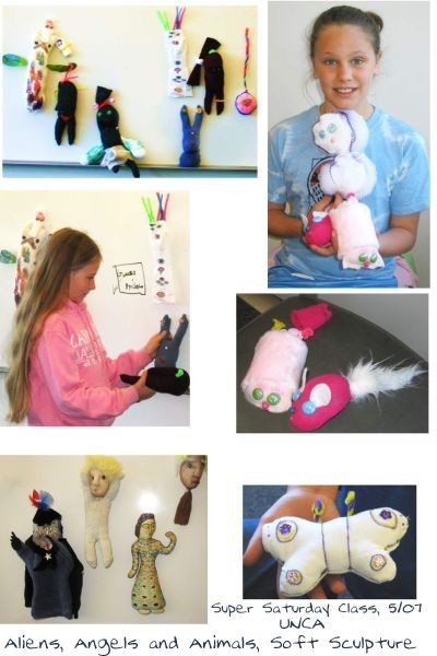 Childrens Soft Sculpture 5/07