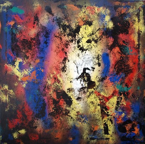 Abstrakt sprayart 22