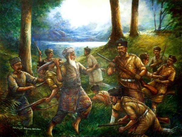 Malaysian Warrior Tok Janggut from Kelantan