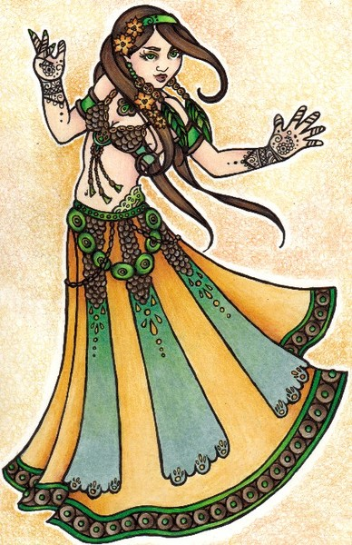 Sona Belly Dancer