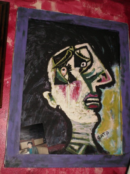 the weeping woman  by  GATO