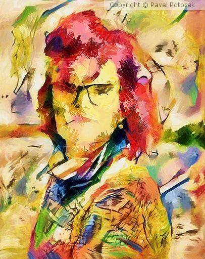 Romanka portrait variation IV