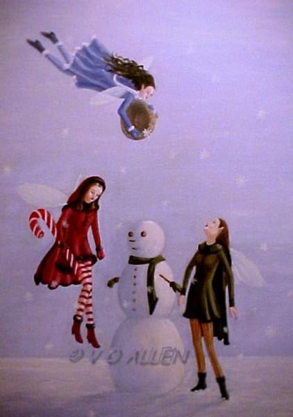 A SPICY SNOWMAN