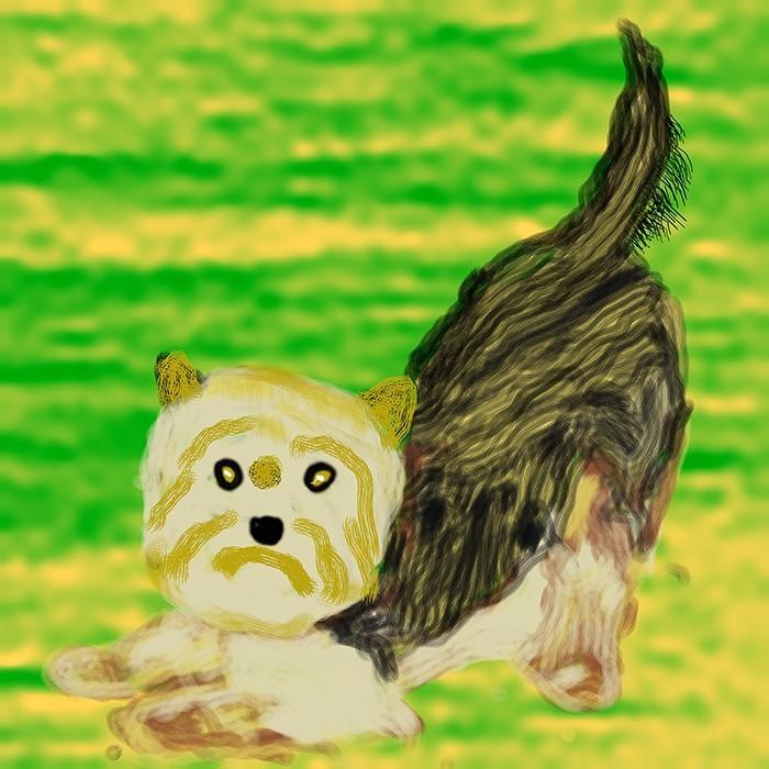 Small Puppy O869