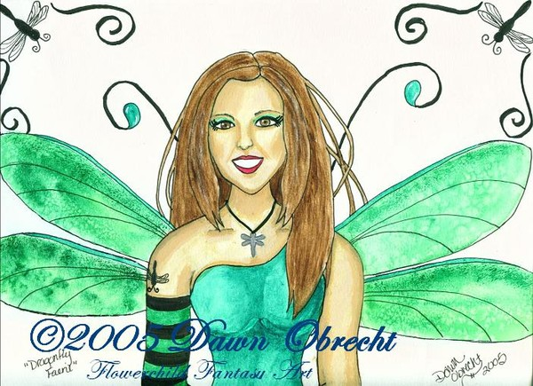 Dragonfly Faerie