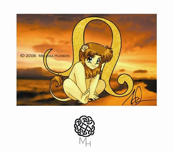 Manga Zodiac -  Leo
