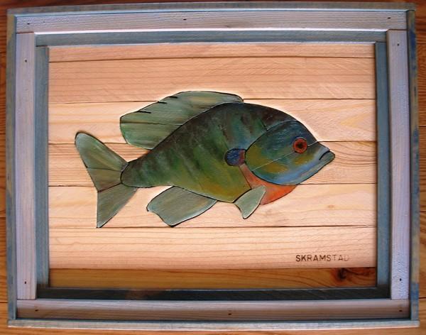 Sunfish Lath Art