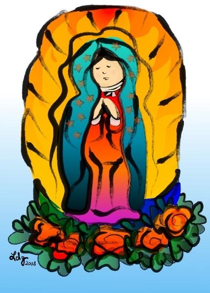 La Virgin de Guadalupe
