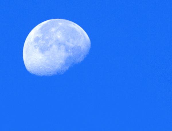 Daytime Moon