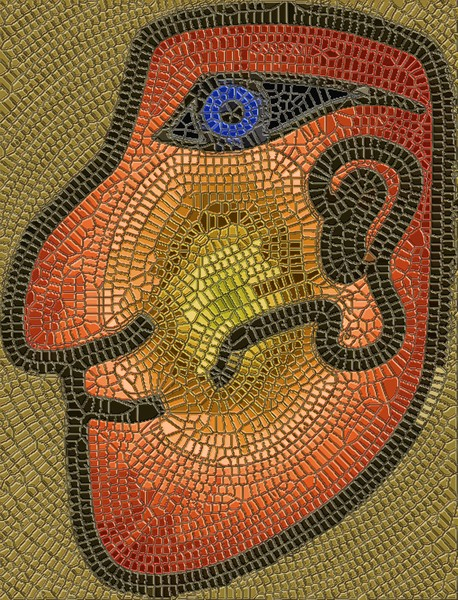 Mayan Metallic Mosaic