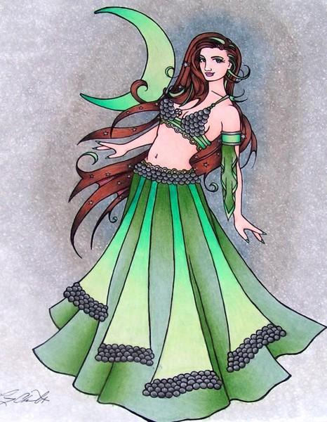 Cancer Belly Dancer