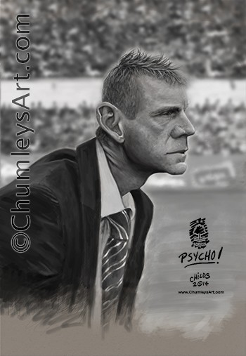 Stuart Pearce - digital painting