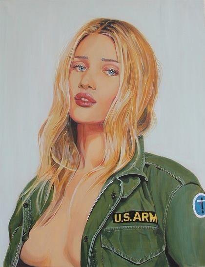 u.s.army girl