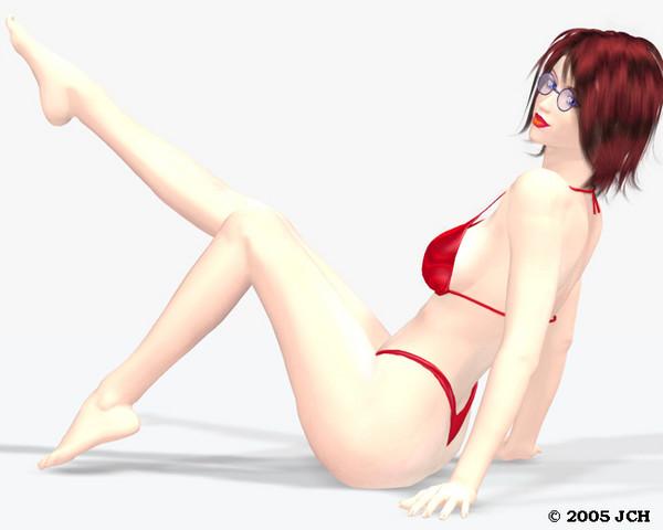 Swimsuit Calendar Tabby