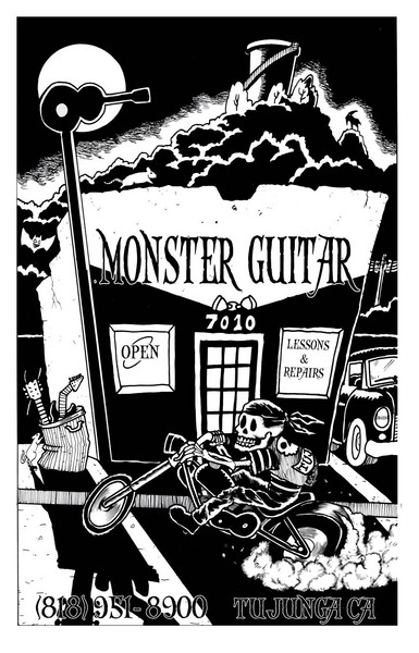Cover Monster Guitar