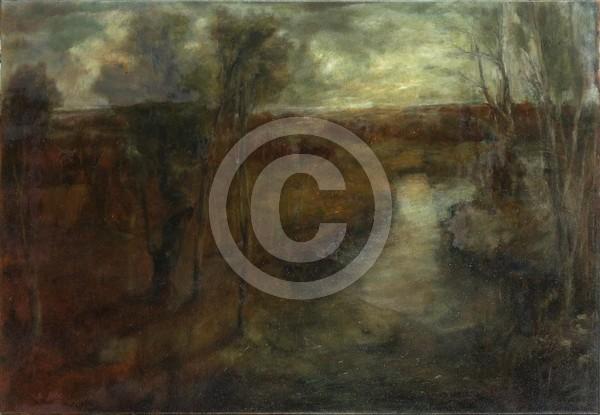 Im Schlaf 65x45 oil on canvas