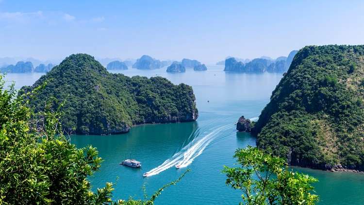 A Nice Day Over Ha Long Bay
